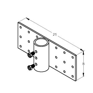 MAGNUM MP1001-3 Plate Bracket