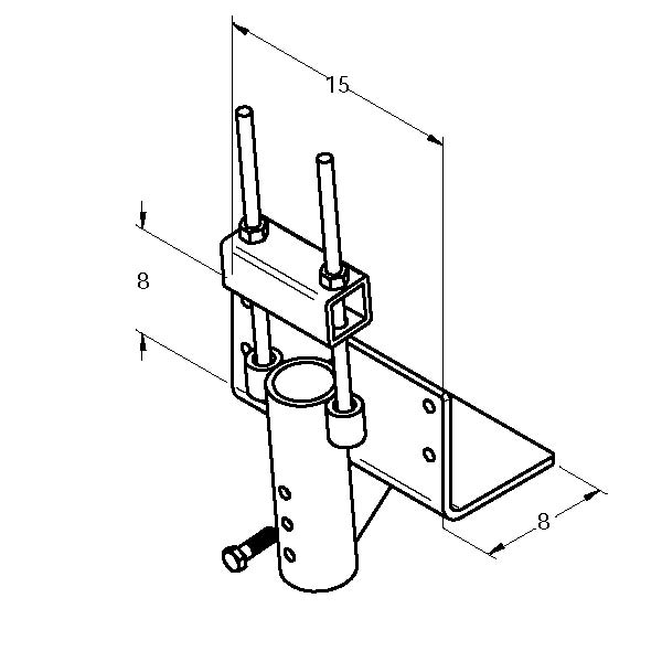 MAGNUM MP1028-3 Lifting Bracket