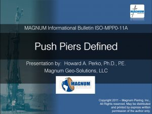 Push Piers Defined