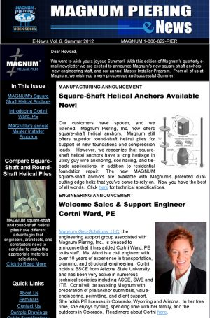 Summer 2012 Newsletter