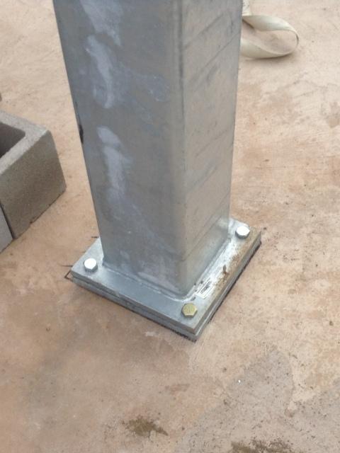 MAGNUM® MMC818B Moment Frame Column - Magnum PieringMagnum Piering